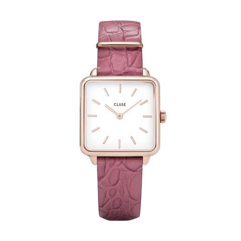 Watch, Analog watch, Watch accessory, Strap, Pink, Fashion accessory, Violet, Purple, Jewellery, Magenta,