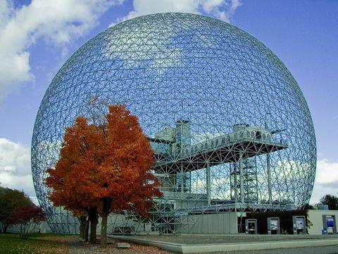 Biosfera de Montreal de Buckminster Fuller