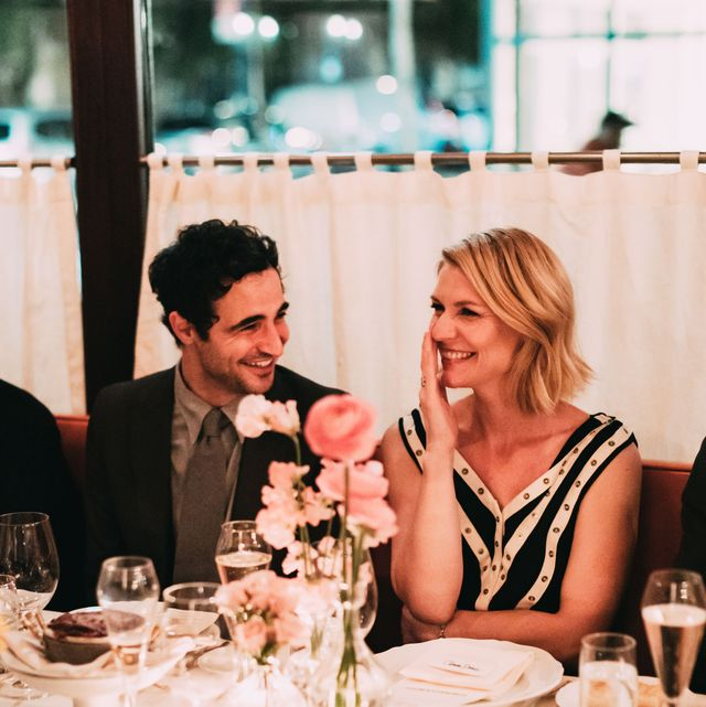 Photograph, Rehearsal dinner, Yellow, Event, Restaurant, Eating, Conversation, Meal, Ceremony, Table,