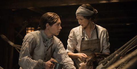 Outlander Claire and Outlander Elias