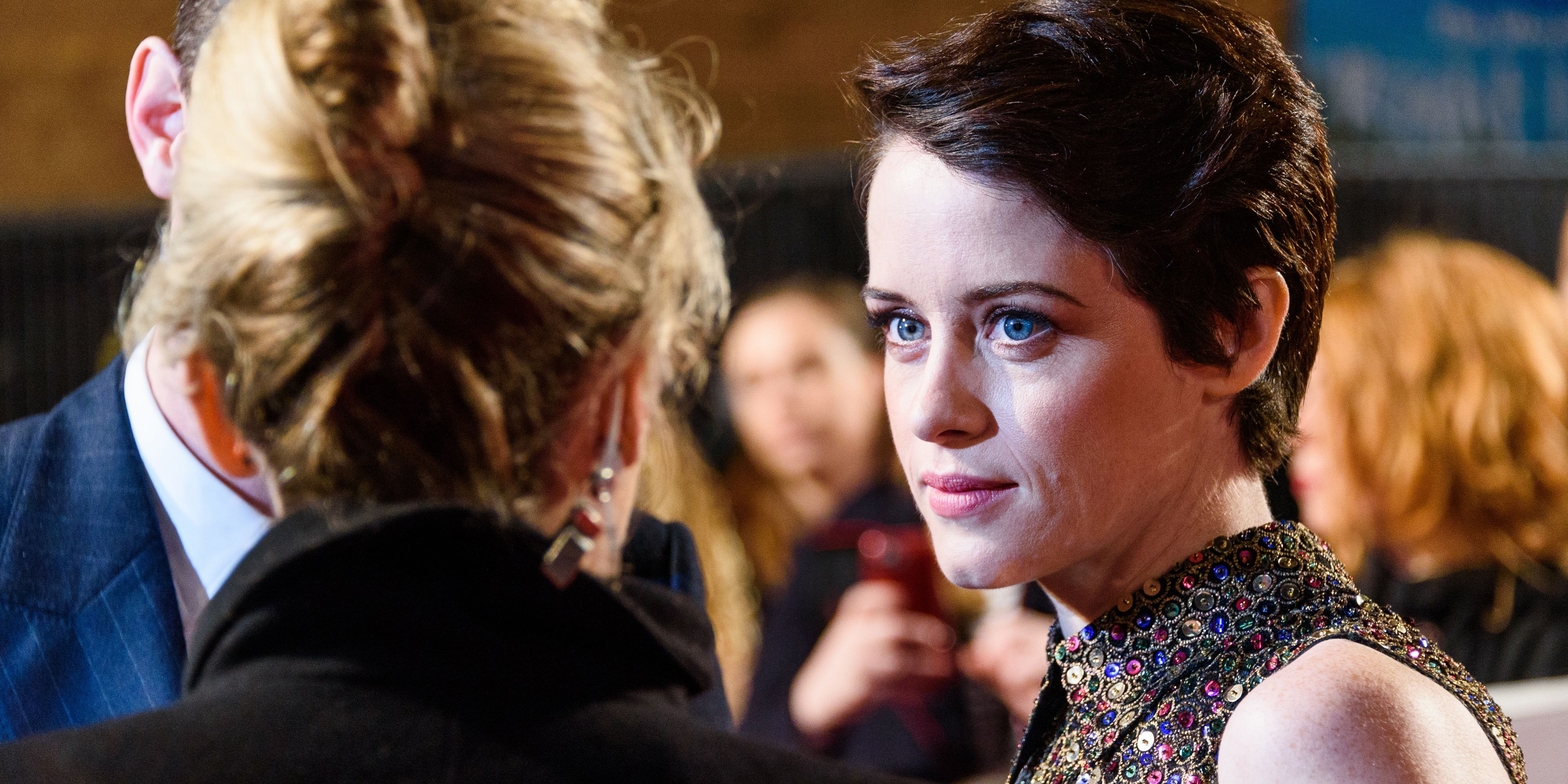 Claire Foy new short hair