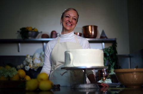 Claire Ptak, royal wedding cake
