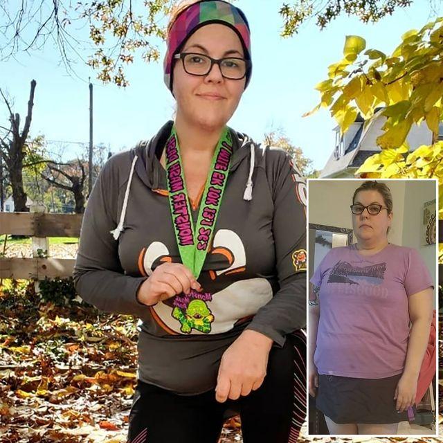 claire wynn running weight loss