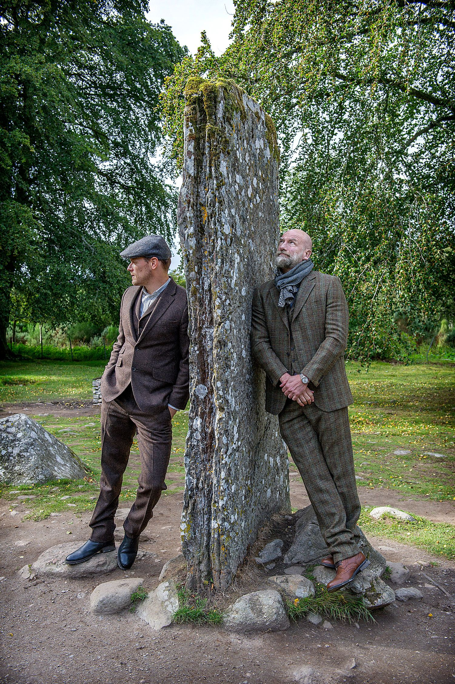 Clanlands Book By Outlander S Sam Heughan Graham Mctavish News