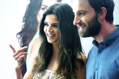 Clara Lago and Dani Rovira Present 'El Corte Ingles' Summer Sales Season 2014