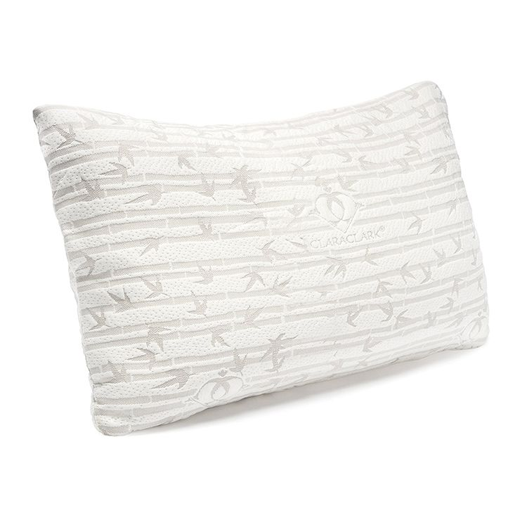 Clara Clark Premium Shredded Memory Foam Pillow