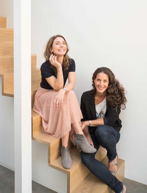 Rebecca and Clare Hopkins