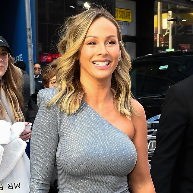 the bachelorette clare crawley is seen outside good morning america on march 2, 2020 in new york city  photo by raymond hallgc images