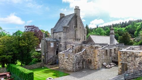 The 500 Year Old Clarghyll Hall For Sale In Cumbria Is