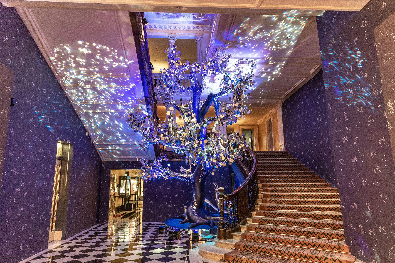 Claridge's Christmas Tree by Diane von Furstenberg