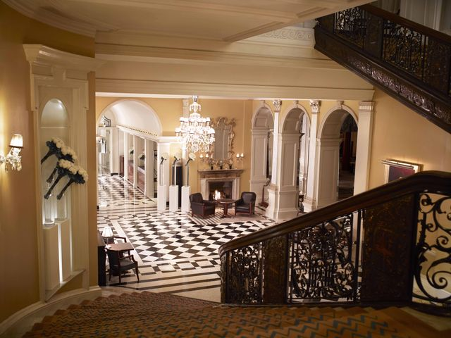 claridges london staircase