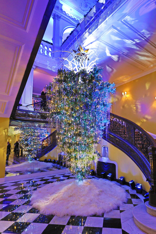 Diane von Furstenberg is designing the Claridges Christmas tree