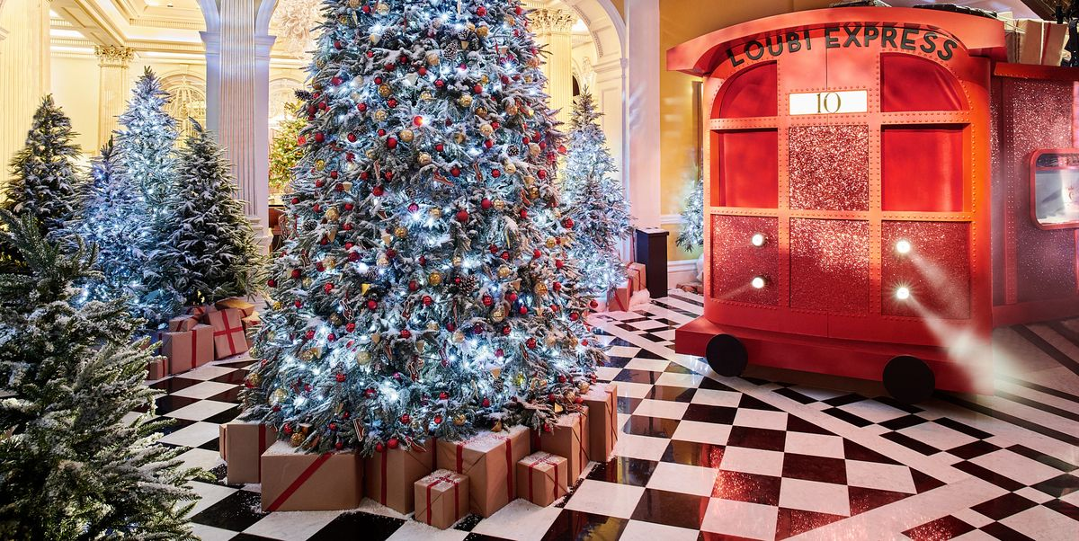 Discover the best dressed trees in town this Christmas