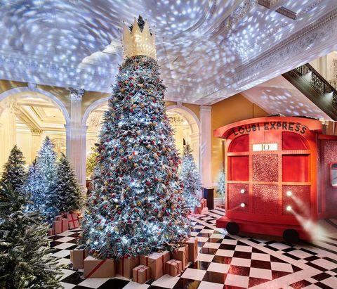クリスマス ツリー、ロンドン、CLARIDGE'S