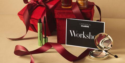 jan happy prijzenfeest 2021 clarins workshop en cadeautjes