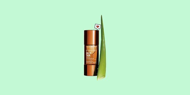 el autobronceador de clarins que se mezcla con la crema hidratante