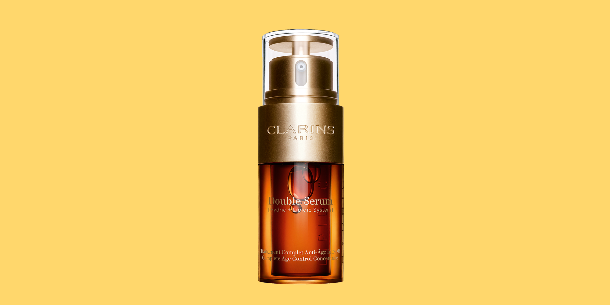 clarins double serum test