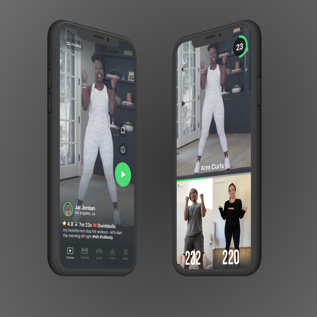 shred workout app