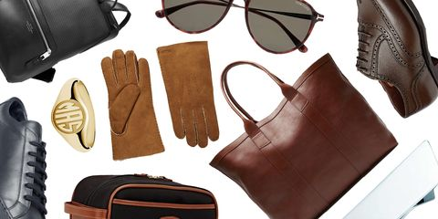Eyewear, Glasses, Sunglasses, Brown, Leather, Personal protective equipment, Glove, Vision care, Hand, Bag,