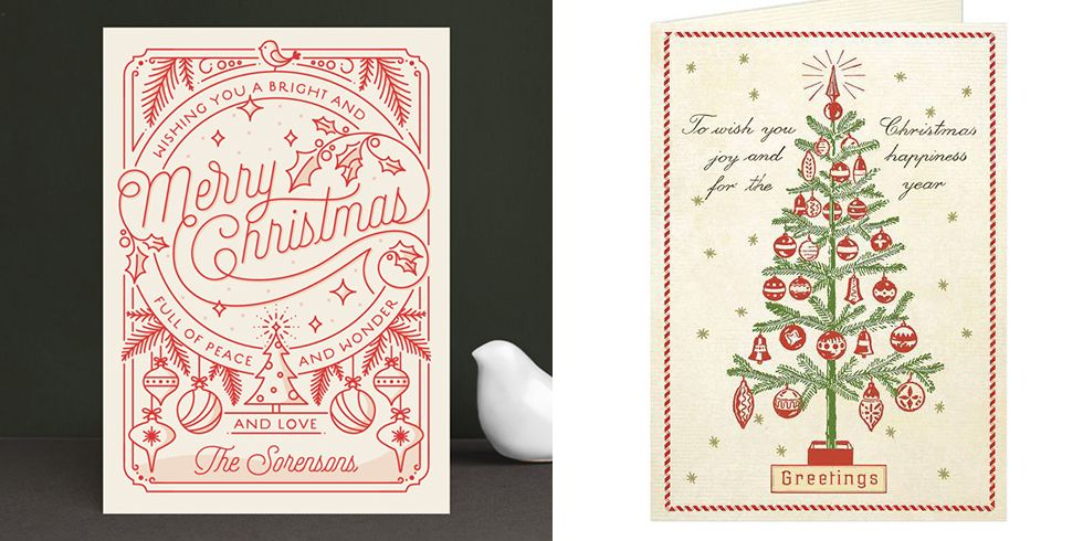 15 Classic Christmas Card Ideas — Retro and Vintage Holiday ...