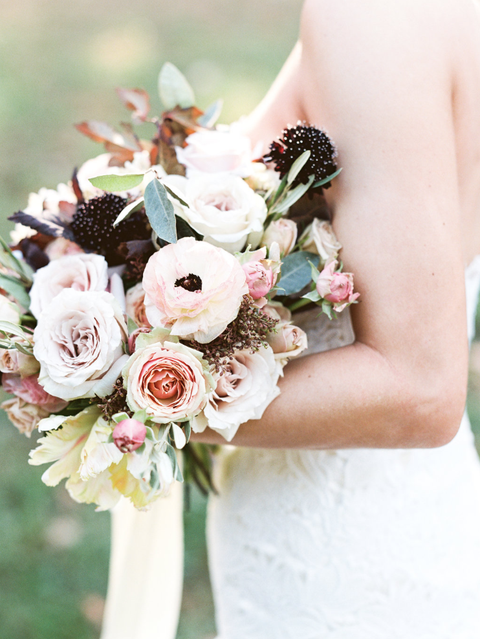 Clic Fall Wedding Bouquet