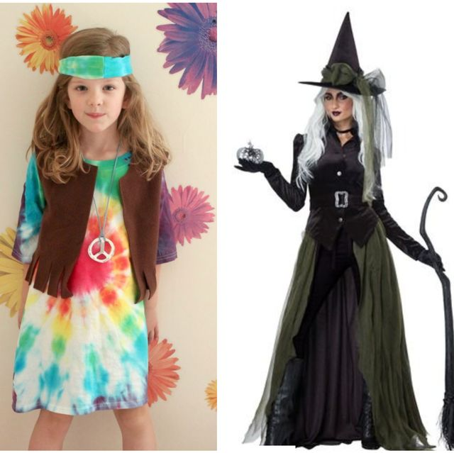 lead image with the hippie witch and pirate halloween costumes