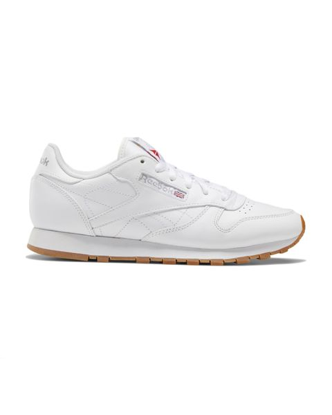 reebok classic leather trainers in white £6500