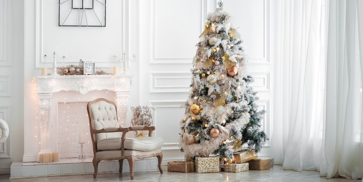 White Christmas Tree.All The Best White Christmas Tree Decorations You Can Buy This Year