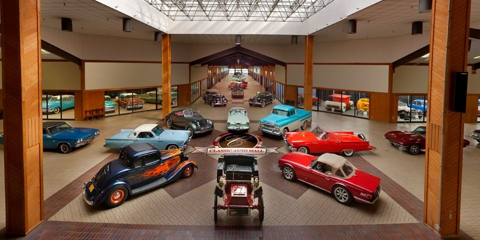 Drone Overflies Astonishing Car Collection—See How Many You Can Name