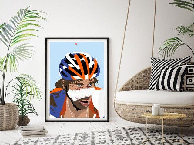 classicomano eert laurens ten dam met geweldige print voor aan de muur