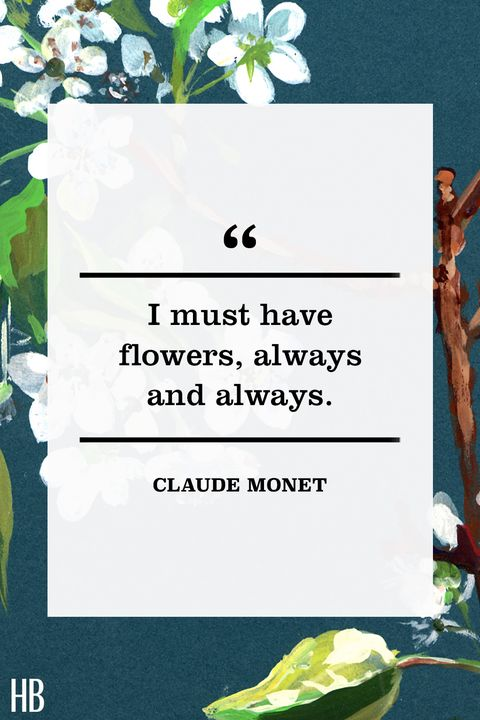 claude monet easter quote