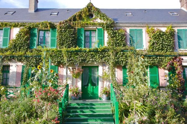 claude monet's house, giverny, normandy, france