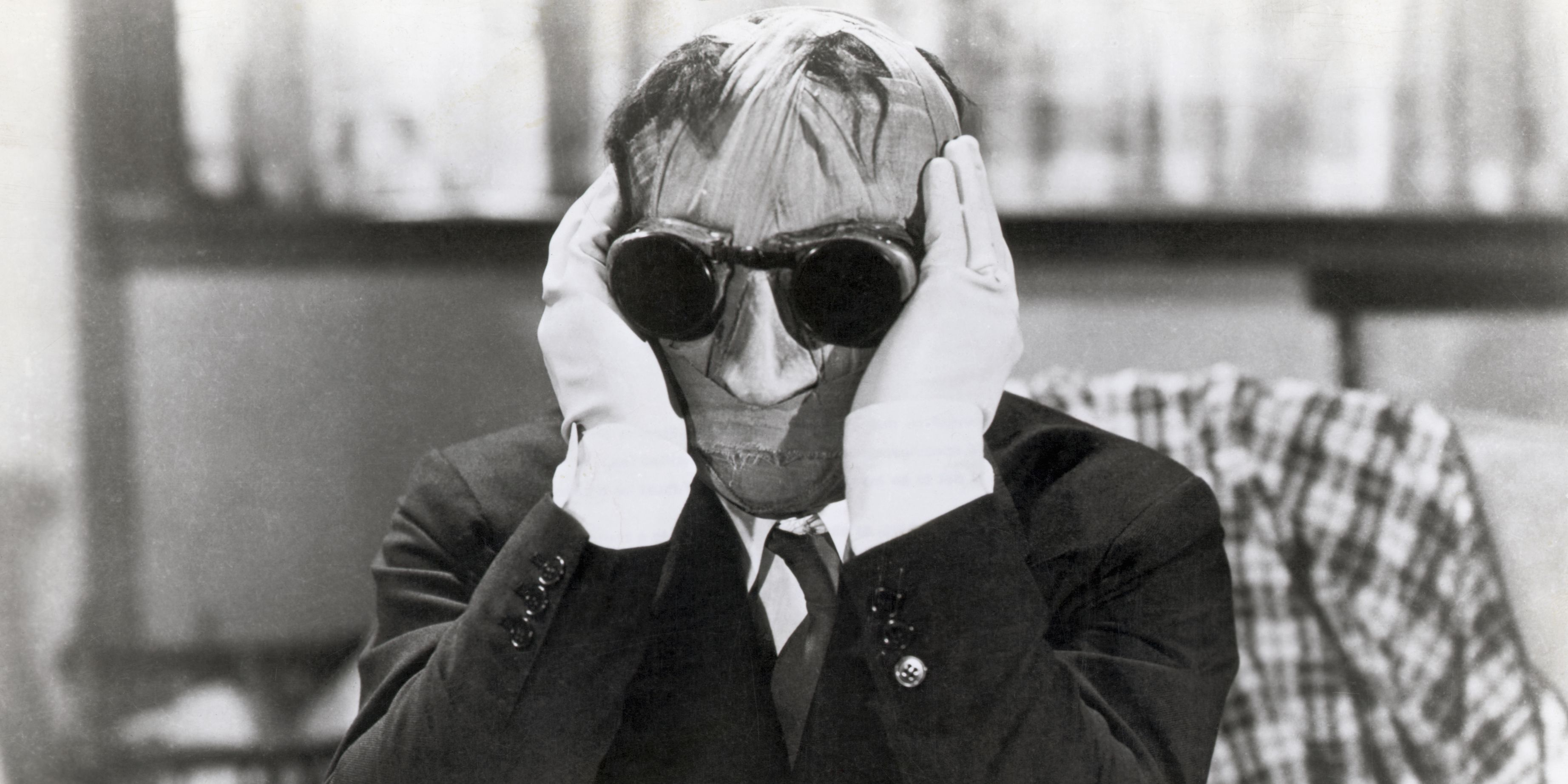 Claude Rains as the Invisible Man