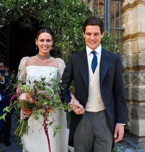 la romántica boda de claudia osborne y josé entrecanales en jerez de la frontera