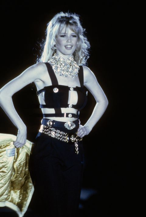 claudia schiffer at 50   career highlights