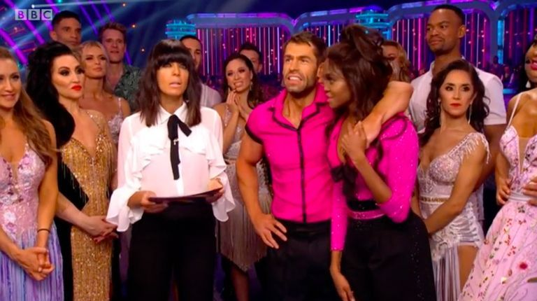 Strictly Come Dancing's Claudia Winkleman makes blunder on air – and Oti Mabuse comes in to save her
