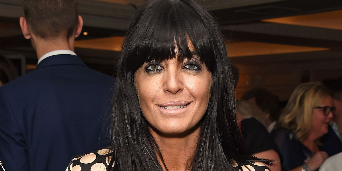 Claudia Winkleman S Red Sequin Dress Is A Sparkly