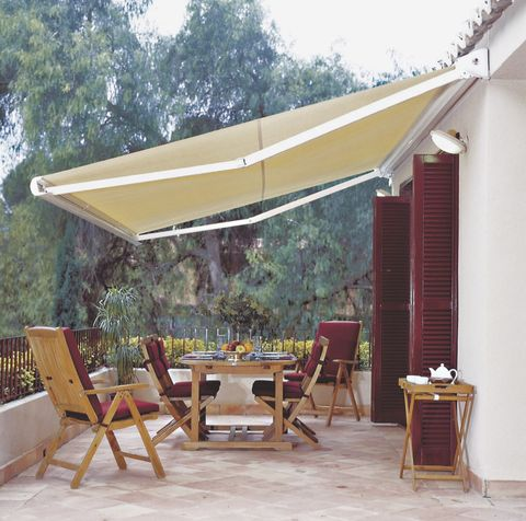 Property, Shade, Furniture, Patio, Awning, Canopy, House, Roof, Room, Home,