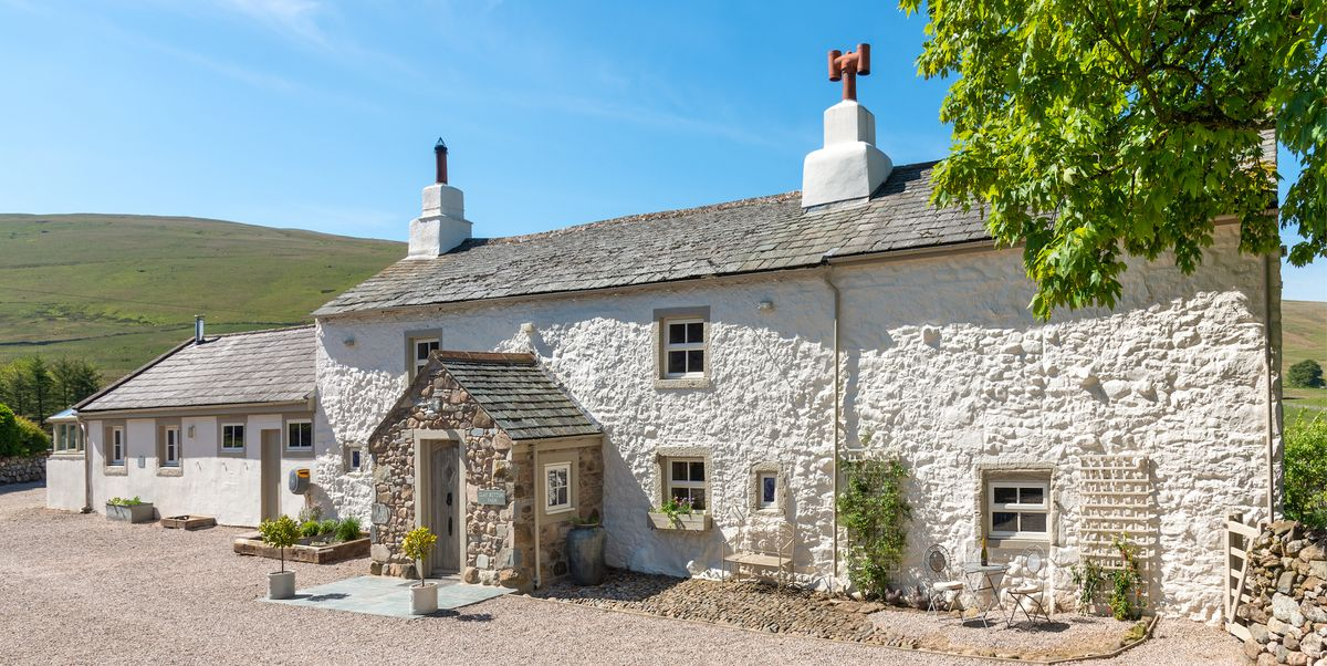 This picturesque cottage for sale is just like something from a fairy tale book