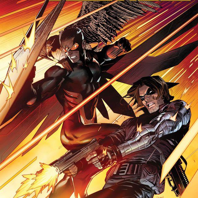 falcon and winter soldier comic