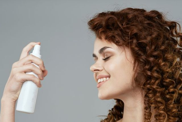 Clean skin woman with face cream
