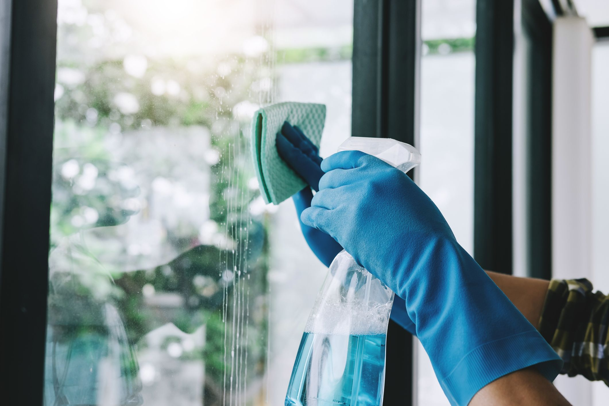 The Fabric Softener Cleaning Hack That Leaves Glass Smear Free