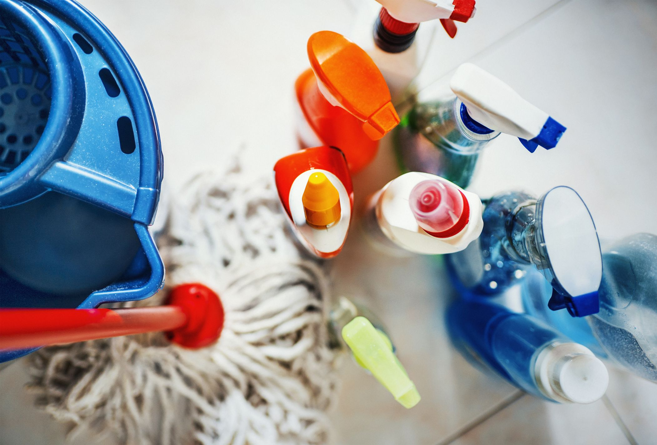 Cleaning Products You Should Never Use