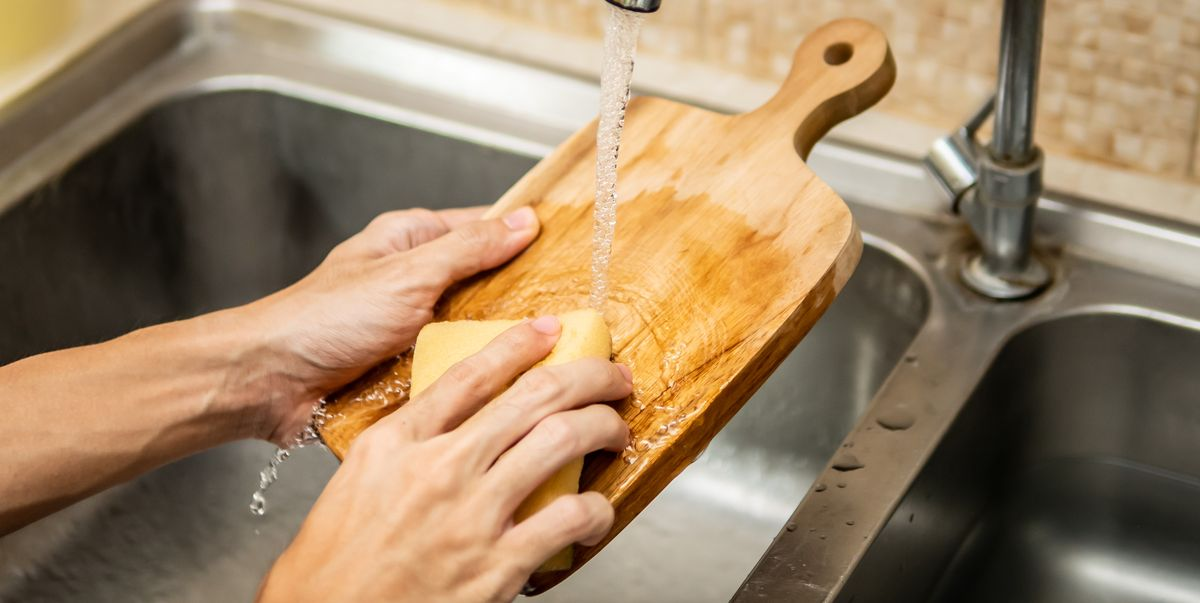Here's the Best Way to Clean a Wooden Cutting Board, Per a Food Safety Expert