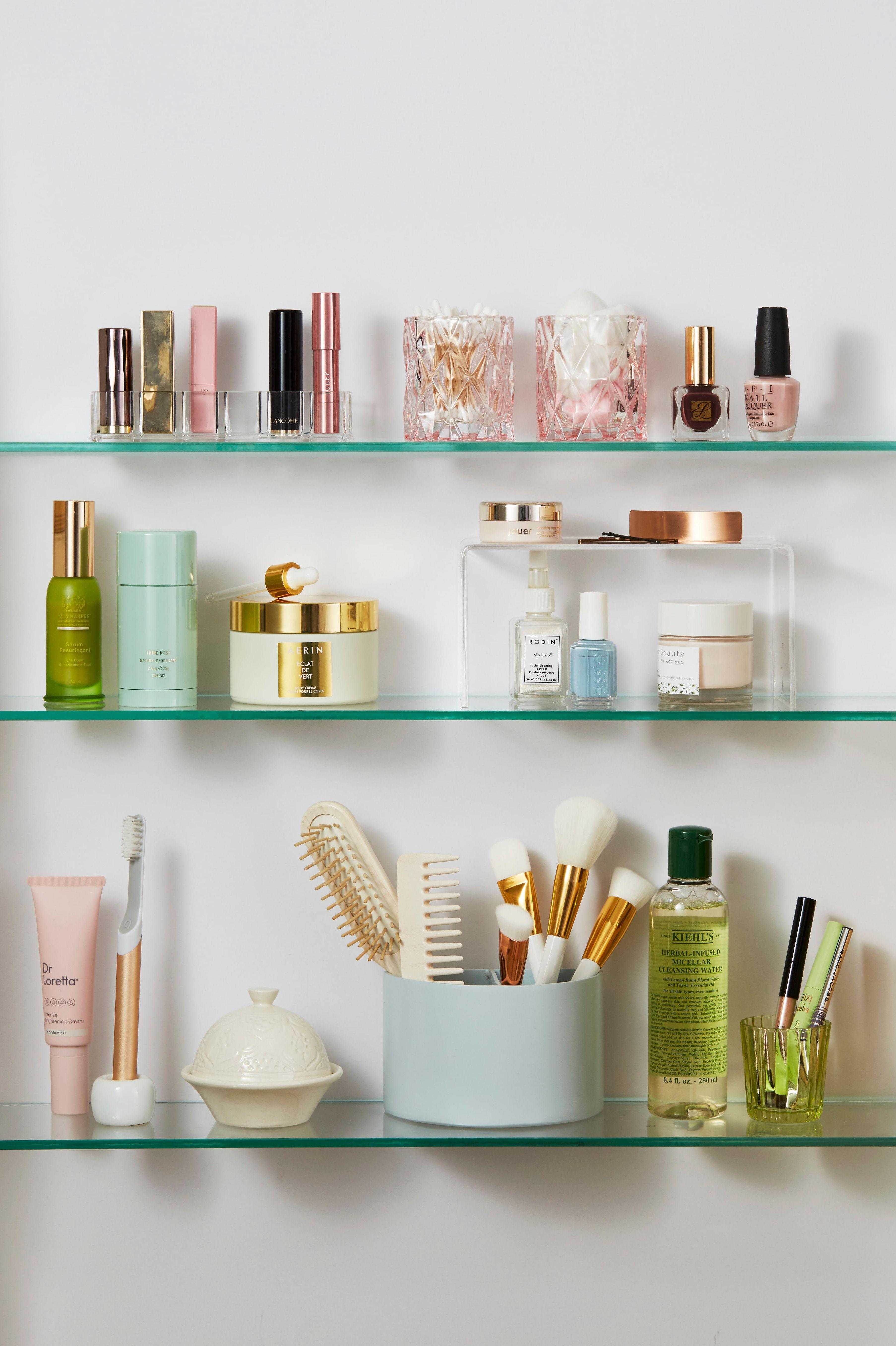 Clear Shelves - Bathroom Shelf Ideas