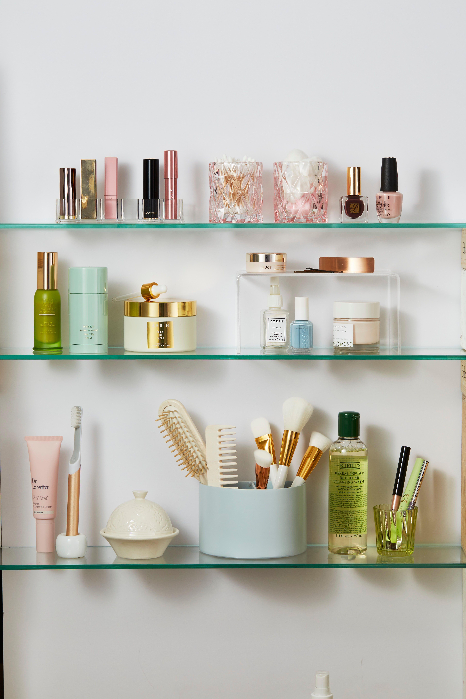 Merveilleux Clear Shelves   Bathroom Shelf Ideas