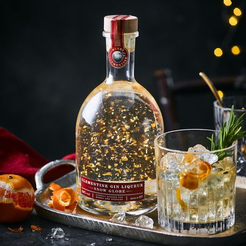 M&S Clementine Gin Liqueur Snow Globe