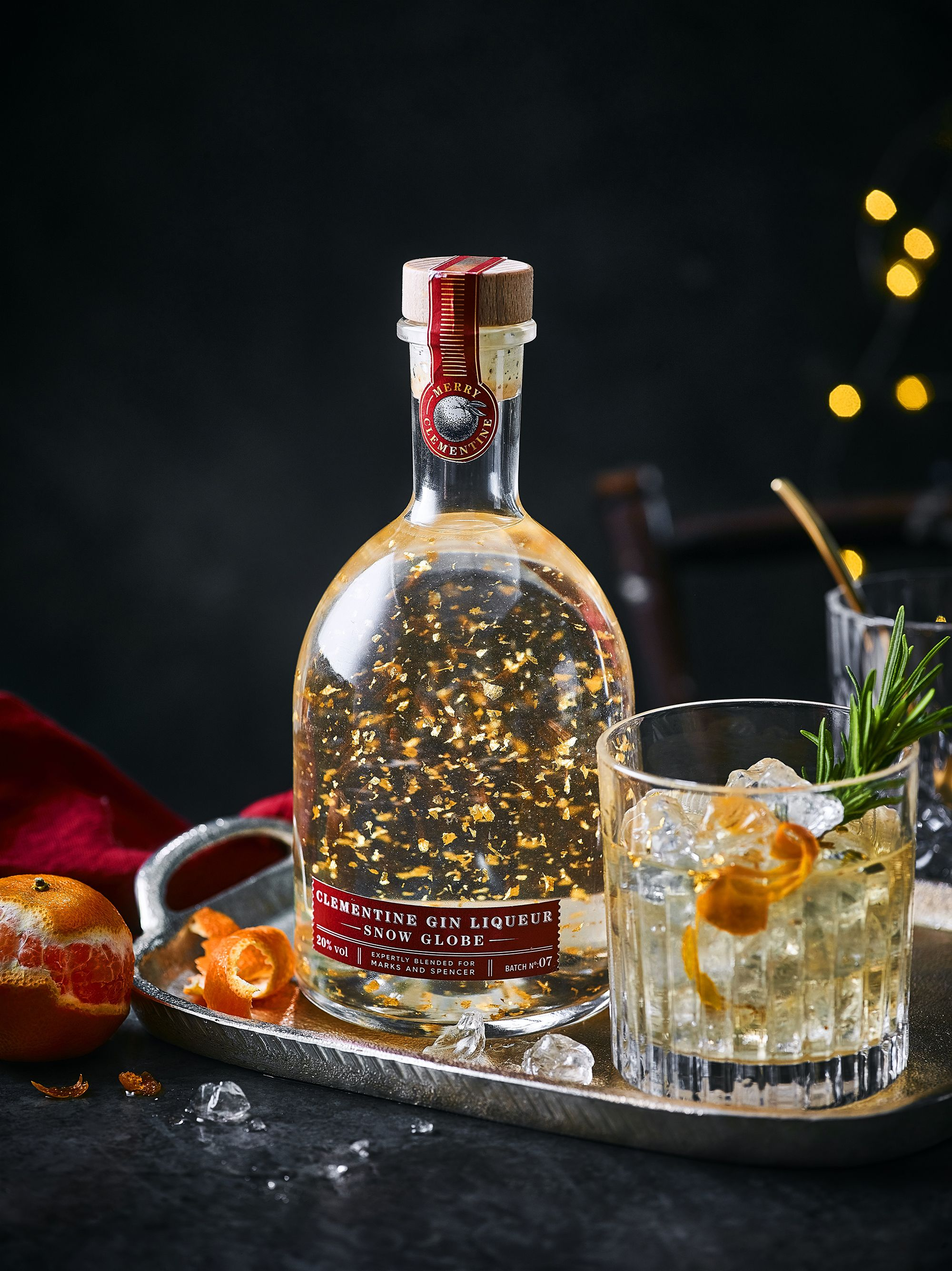 This Marks & Spencer gin snow globe is the ultimate Christmas gift for gin lovers