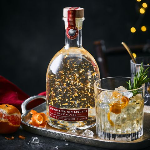 Clementine For Christmas.Marks Spencer Unveils Gin Snow Globe For Christmas 2019