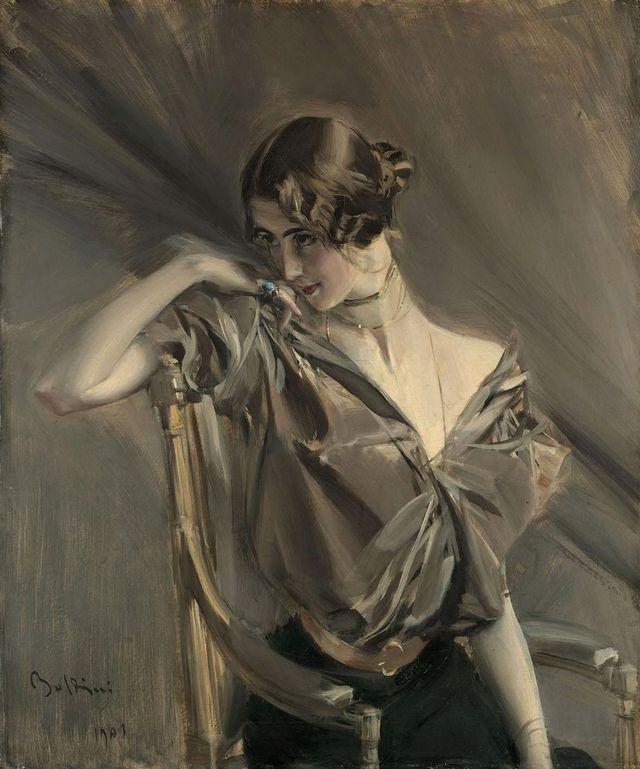 cléo de mérode, 1901 private collection artist boldini, giovanni 1842 1931 photo by fine art imagesheritage images via getty images